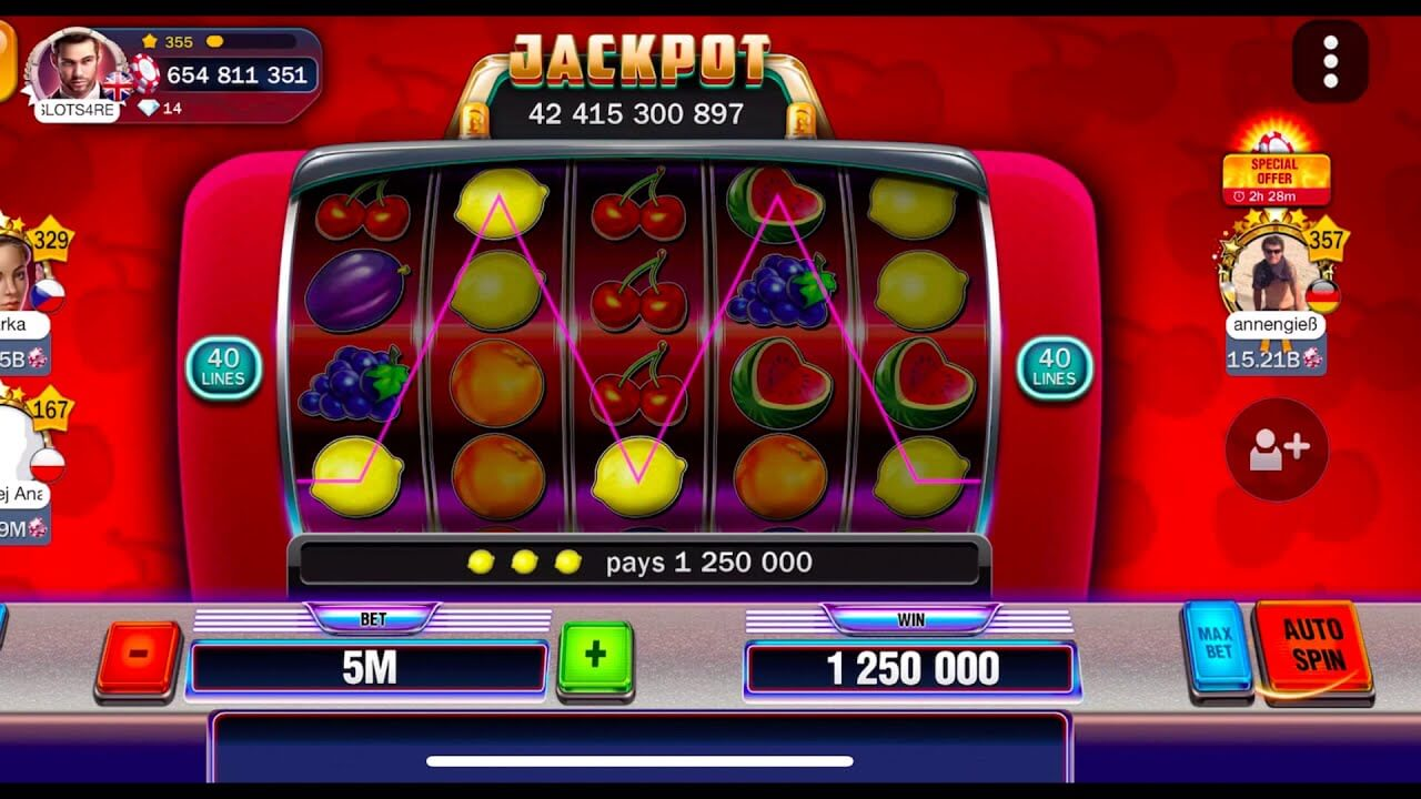 Free Vegas Penny slots for active users